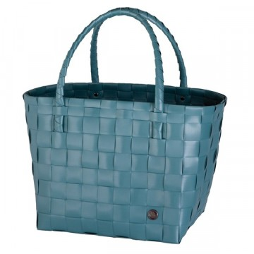 Paris reiseveske - Teal Blue