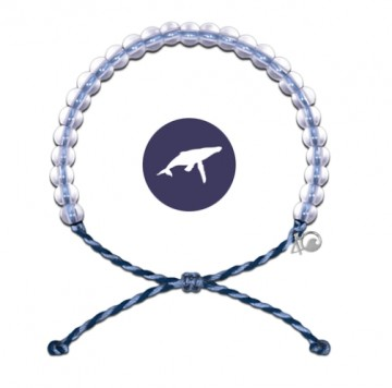 4Ocean Armbånd Blue/Purple - Hval