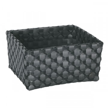 Limoges Basket dark grey with black pattern