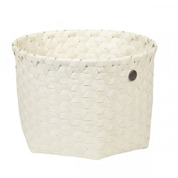 Dimensional Basket ecru white S
