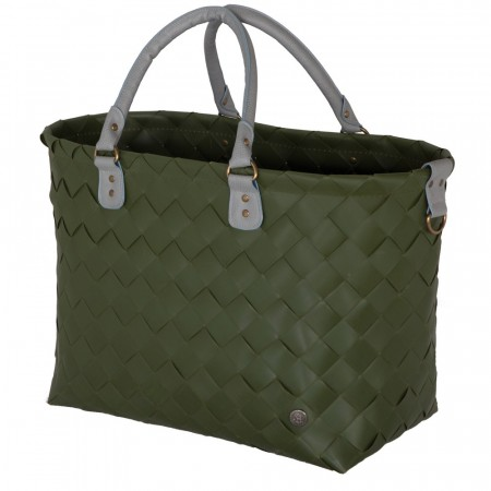 Saint-Tropez reiseveske XL Hunting Green