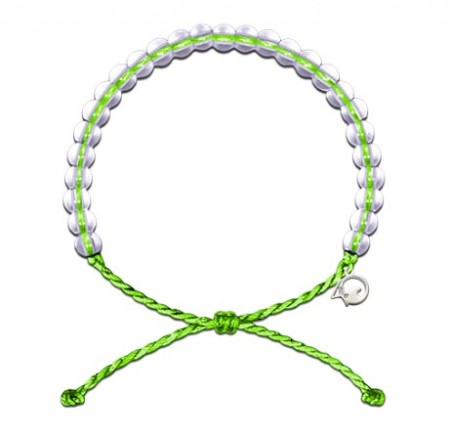 4Ocean armbånd - green limited edition