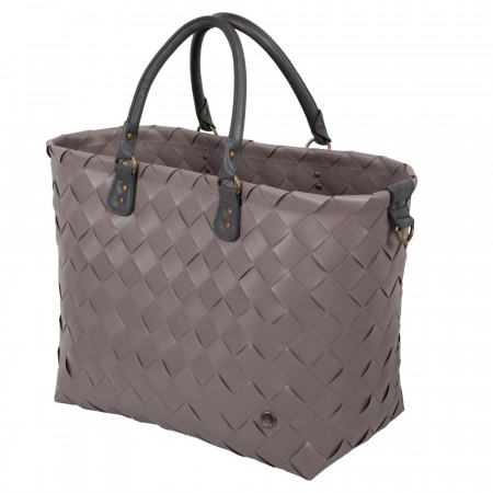 Saint-Tropez reiseveske XL Stone Brown