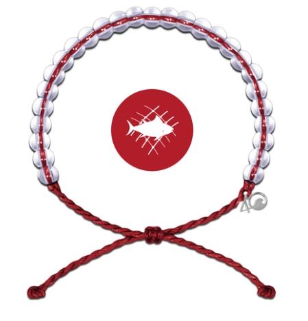 4Ocean Armbånd Red Overfiske