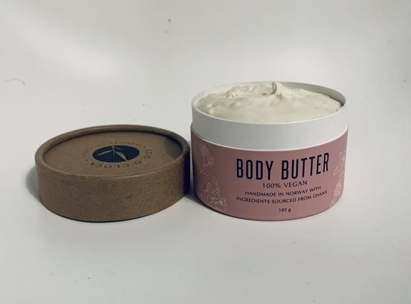 Eco O´Clock - Vegansk body butter