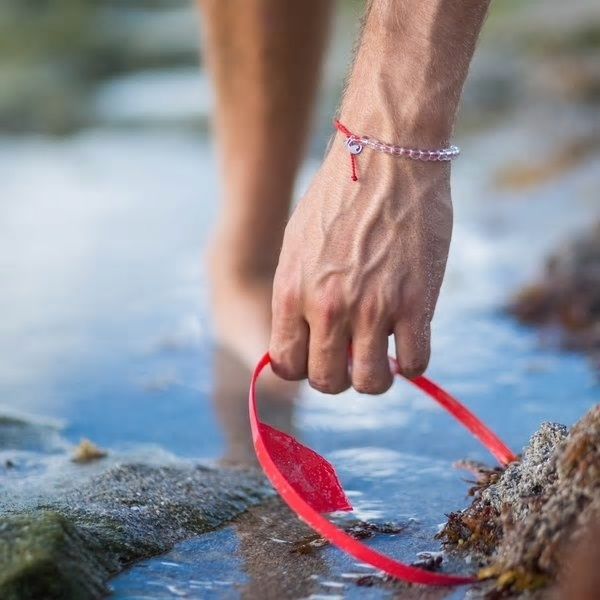 4Ocean - Overfishing Red Bracelet