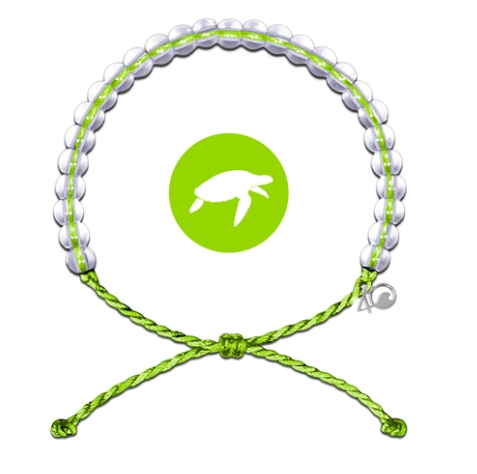 4Ocean - Sea Turtle Lime Bracelet