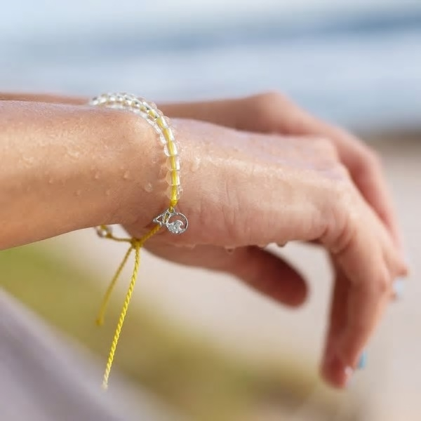 4Ocean - Seabirds Yellow bracelet